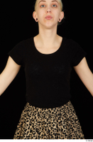 Marsha black t shirt dressed upper body 0001.jpg