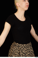 Marsha black t shirt dressed upper body 0002.jpg