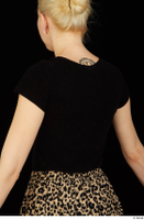 Marsha black t shirt dressed upper body 0006.jpg
