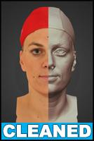 3D head scan - Zaneta - CLEANED