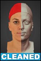 3D head scan - Zaneta - CLEANED