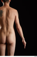 Falco White  1 arm back view flexing nude 0001.jpg