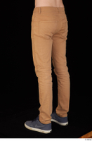 Falcon White brown trousers casual dressed leg lower body 0004.jpg