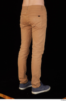 Falcon White brown trousers casual dressed leg lower body 0006.jpg