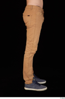 Falcon White brown trousers casual dressed leg lower body 0007.jpg