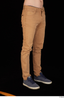 Falcon White brown trousers casual dressed leg lower body 0008.jpg