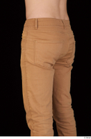 Falcon White brown trousers casual dressed hips thigh 0004.jpg