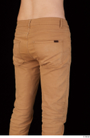 Falcon White brown trousers casual dressed hips thigh 0006.jpg