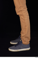Falcon White blue sneakers brown trousers calf casual dressed 0003.jpg