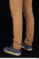 Falcon White blue sneakers brown trousers calf casual dressed 0004.jpg