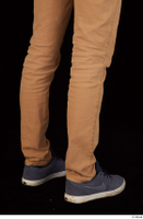 Falcon White blue sneakers brown trousers calf casual dressed 0006.jpg