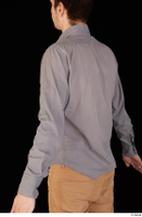Falcon White business dressed grey shirt upper body 0007.jpg