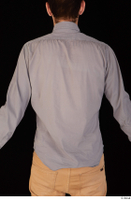 Falcon White business dressed grey shirt upper body 0008.jpg