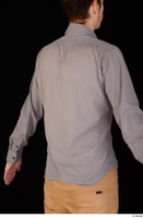 Falcon White business dressed grey shirt upper body 0011.jpg