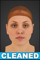 3D head scan - Simona - CLEANED