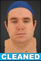 3D head scan - Jakub - CLEANED