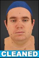 3D head scan - Jakub - CLEANED