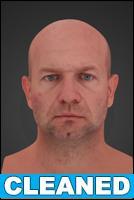3D head scan - Richard - CLEANED