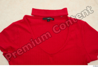 Clothes  209 red turtleneck t shirt 0003.jpg