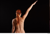 Charlie Red   1 arm back view flexing nude 0004.jpg