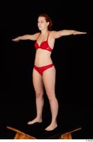 Charlie Red red bra red panties standing t-pose underwear whole body 0002.jpg