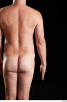 Paul Mc Caul  1 arm back view flexing nude 0001.jpg
