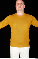 Paul Mc Caul casual dressed upper body yellow sweatshirt 0001.jpg