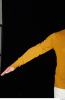 Paul Mc Caul arm casual dressed yellow sweatshirt 0001.jpg
