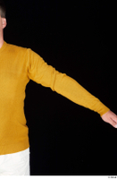 Paul Mc Caul arm casual dressed yellow sweatshirt 0002.jpg