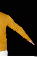 Paul Mc Caul arm casual dressed yellow sweatshirt 0004.jpg
