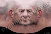 Man head premade texture 0002