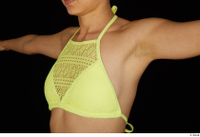 Shrima breast chest yellow bra 0002.jpg