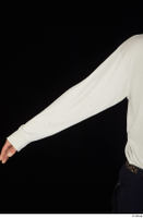 Gruffydd arm dressed upper body white long sleeve t shirt 0001.jpg