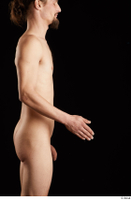 Gruffydd  1 arm flexing nude side view 0002.jpg