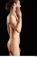 Gruffydd  1 arm flexing nude side view 0005.jpg