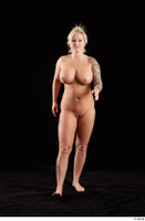 Jarushka Ross  1 front view nude walking 0001.jpg