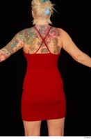 Jarushka Ross dressed red dress trunk 0005.jpg