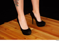 Jarushka Ross black high heels foot shoes 0008.jpg