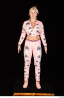 Jarushka Ross dressed pink jogging suit pink sneakers standing whole body 0001.jpg