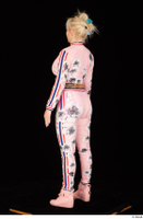 Jarushka Ross dressed pink jogging suit pink sneakers standing whole body 0004.jpg