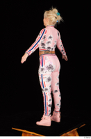 Jarushka Ross dressed pink jogging suit pink sneakers standing whole body 0012.jpg