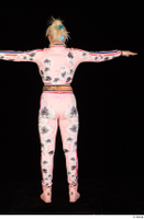 Jarushka Ross dressed pink jogging suit pink sneakers standing t poses whole body 0005.jpg