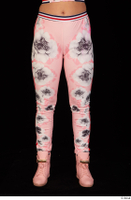 Jarushka Ross dressed leg lower body pink jogging suit 0001.jpg