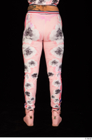Jarushka Ross dressed leg lower body pink jogging suit 0005.jpg