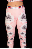 Jarushka Ross dressed hips pink jogging suit thigh 0001.jpg