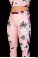 Jarushka Ross dressed hips pink jogging suit thigh 0002.jpg