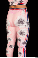 Jarushka Ross dressed hips pink jogging suit thigh 0006.jpg