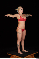 Jarushka Ross red bra red panties red underwear standing t poses whole body 0008.jpg