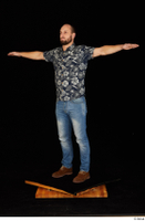 Orest blue jeans blue shirt brown shoes casual dressed standing t-pose whole body 0002.jpg