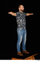 Orest blue jeans blue shirt brown shoes casual dressed standing t-pose whole body 0008.jpg